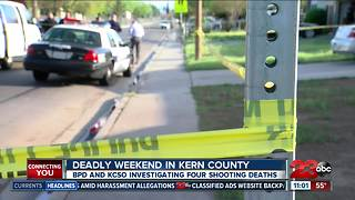 Deadly weekend in Kern County