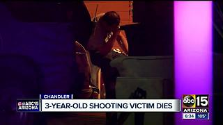 Chandler police: 3-year-old shot, father found in same room - Video