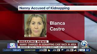 Nanny charged in Jupiter boy's kidnapping transferred to Palm Beach County - Video