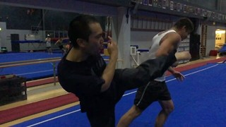 Professional Stuntman Takes Kick to the Face - Video