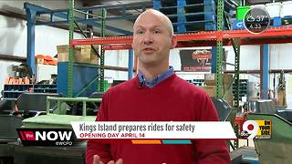 How Kings Island keeps riders safe - Video
