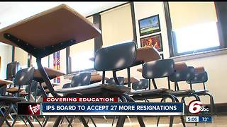 27 more IPS personnel, teachers resign from school district - Video