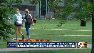 This Week in Cincinnati: Tackling mental health problems during the school year - Video
