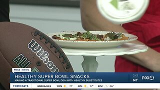 Making Healthy Super Bowl Snacks