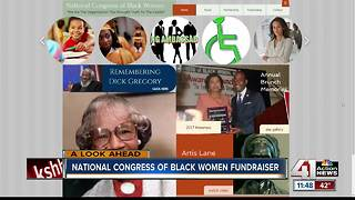 Interview: National Congress of Black Women Fundraiser - Video