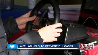 Law enforcement uses Wet Lab to learn from DUIs