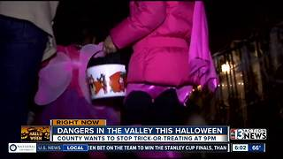 Staying safe on Halloween - Video