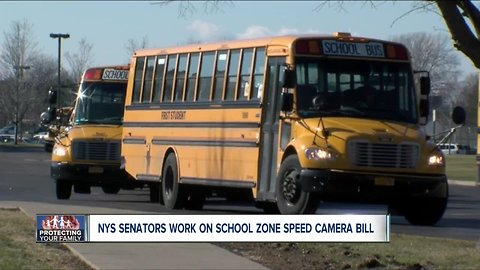 Cameras could soon be coming to stop arms on New York school buses