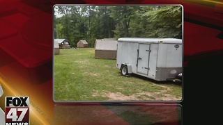 Boy Scouts troop searching for stolen equipment