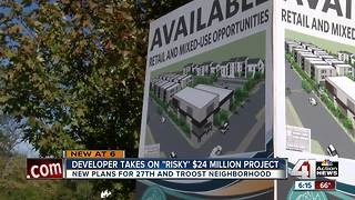 City approves plans for mixed-use project at 27th and Troost - Video