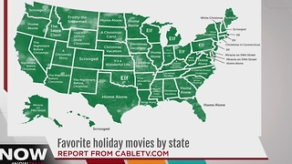 Favorite holiday movies by state - Video