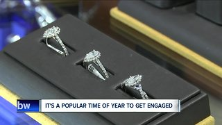 Christmas time is the most popular time of year to get engaged
