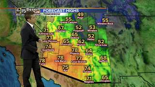 Warmer temps return to the Valley for the weekend - Video