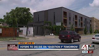 "Voters to decide on ""Question 1"""