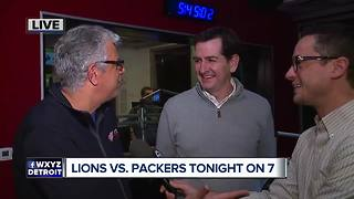 Lions vs. Packers tonight on 7 - Video