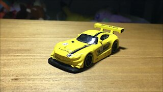 Awesome Hot Wheels Car '16 Mercedes-AMG GT3 (2019 Mainline Livery)