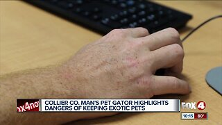 Naples man arrested for illegal pets
