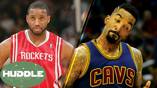 JR Smith SLAMS Tracy McGrady for Saying HOF is Harder than Winning a Championship -The Huddle - Video