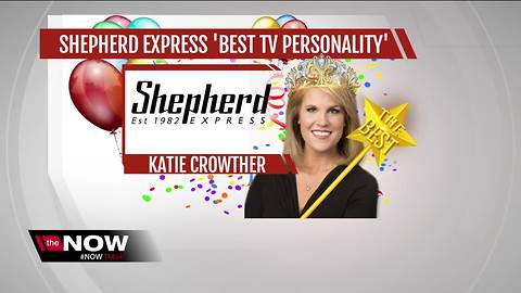 Katie Crowther named Milwaukee's 'Best TV Personality' by Shepherd Express