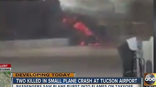 Two major incidents in Tucson Monday including a deadly plane crash - Video