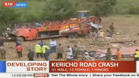 Kenya Bus Crash Kills At Least 55 People