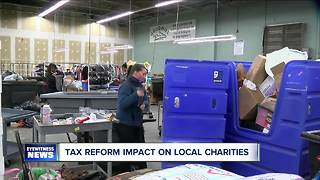Charities worried about tax reform