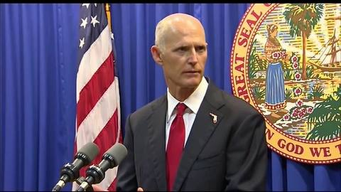 Governor Scott announces