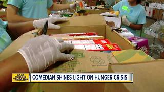 Tampa comic sheds light on hunger & homelessness - Video