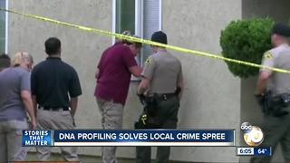 DNA profiling solves local crime spree - Video