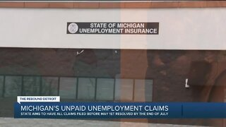 Michigan's unpaid unemployment claims