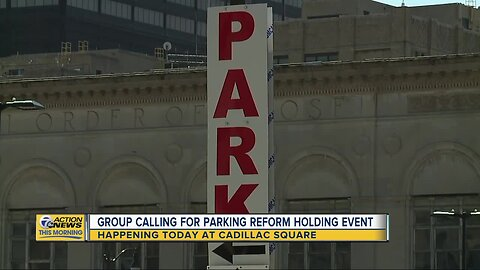 Group calling for parking reform to take over parking spots in Detroit