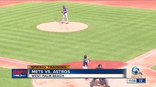 Mets vs. Astros (FitTeam Ballpark of The Palm Beaches) - Video
