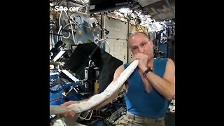 An Astronaut Made a Didgeridoo With a Space Station Vacuum Hose