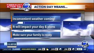 Thursday forecast: A BIG cool-down - Video