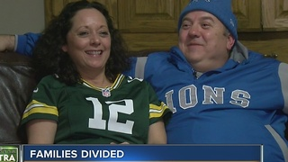 Packers/Lions leads to some divided households - Video