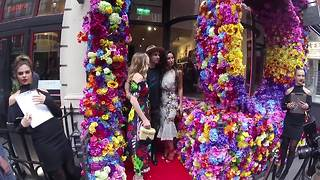 Made in Chelsea sisters Lily and Rosie Fortescue at 'One Love' event - Video