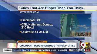 Cincinnati tops list of cities that are hipper than you think - Video