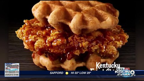 KFC now selling chicken and waffles