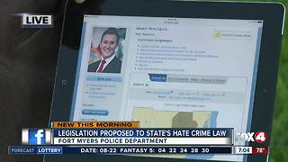Proposed legislation aimed to protect law enforcement