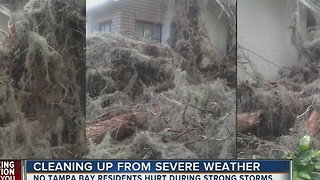 Cleaning up from severe weather - Video