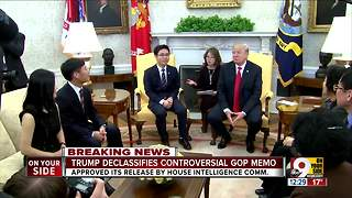 Trump releases Nunes memo alleging FBI abused government surveillance in Russia probe - Video