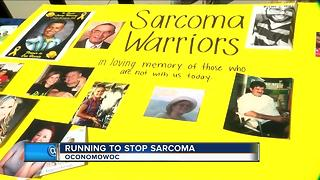 Running to stop sarcoma - Video