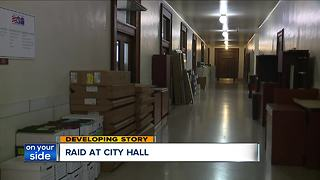 Raid at Cleveland City Hall - Video
