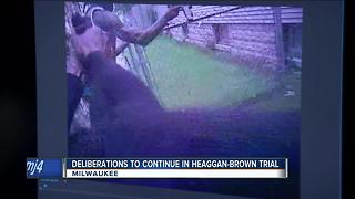 Waiting for a verdict in Heaggan-Brown trial - Video