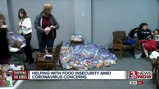 Helping with food insecurity amid coronavirus concerns