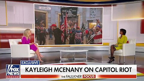 Kayleigh McEnany's first interview since leaving White House