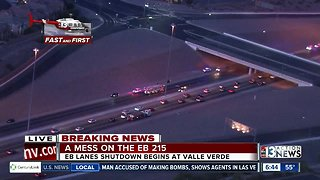 Fatal incident on 215 in Henderson