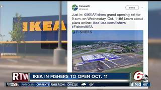 Fishers IKEA to open Oct. 11 - Video