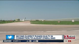 Man pleads guilty in connection to O'Neill raid