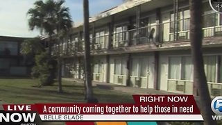 A community coming together for those in need in Belle Glade - Video